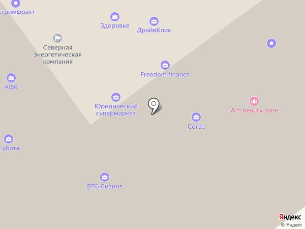 ЦЕРИХ Кэпитал Менеджмент на карте Архангельска