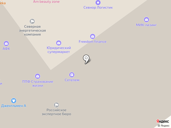 Форум-Нева на карте Архангельска