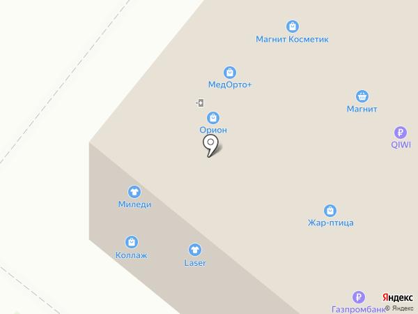 Kristy на карте Архангельска