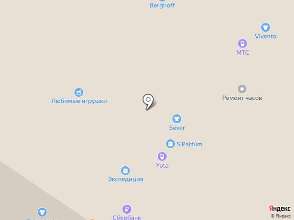 Лабиринт страха на карте Архангельска