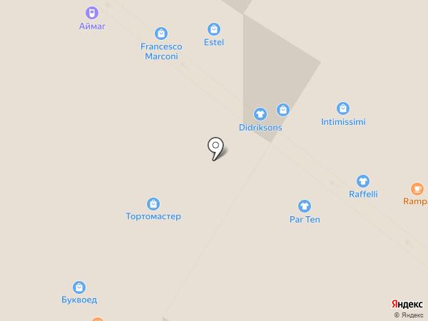 Икстрим Клуб на карте Архангельска