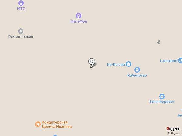 Asics на карте Архангельска
