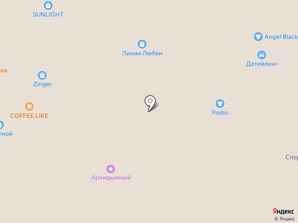 Podio на карте Архангельска