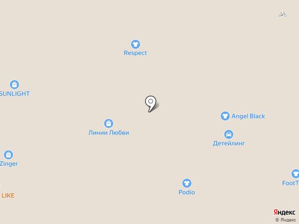 Levi`s на карте Архангельска