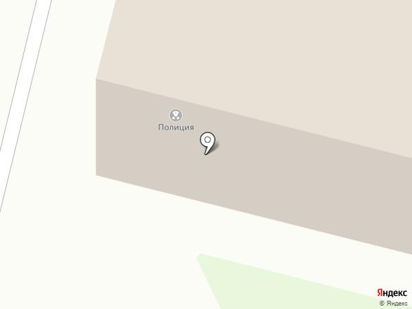 Отдел полиции по Приморскому району на карте Архангельска
