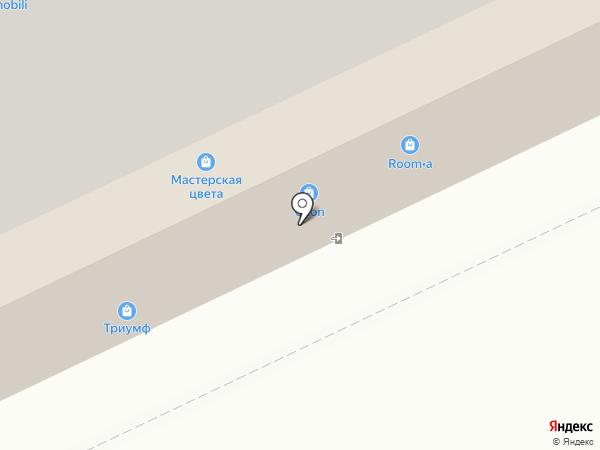 ТОРЭКС на карте Архангельска