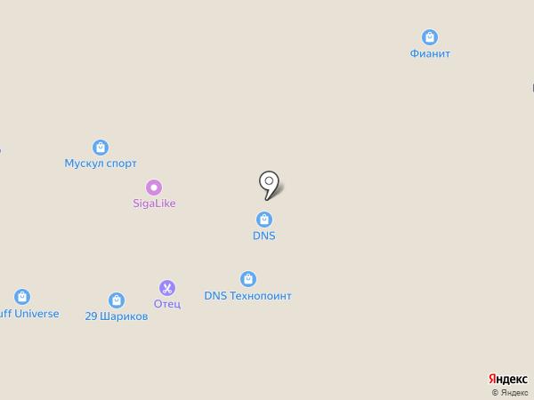 Модные бриллианты на карте Архангельска