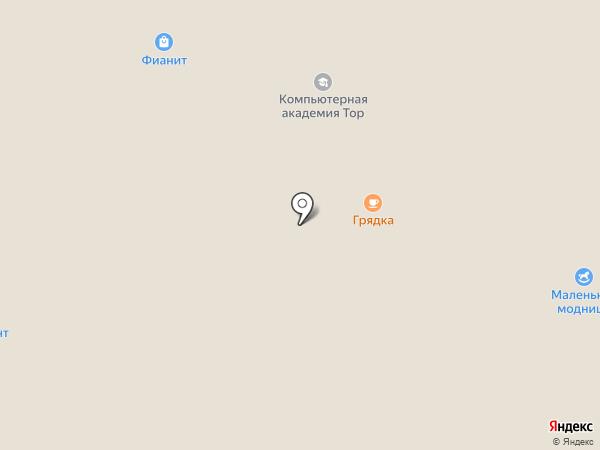 El Tempo на карте Архангельска