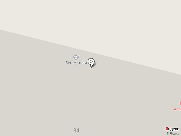 Теплогазстрой на карте Архангельска