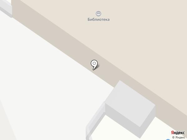 Боголюбовская поселковая библиотека на карте Боголюбово