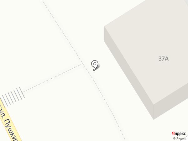 Рубин на карте Боголюбово