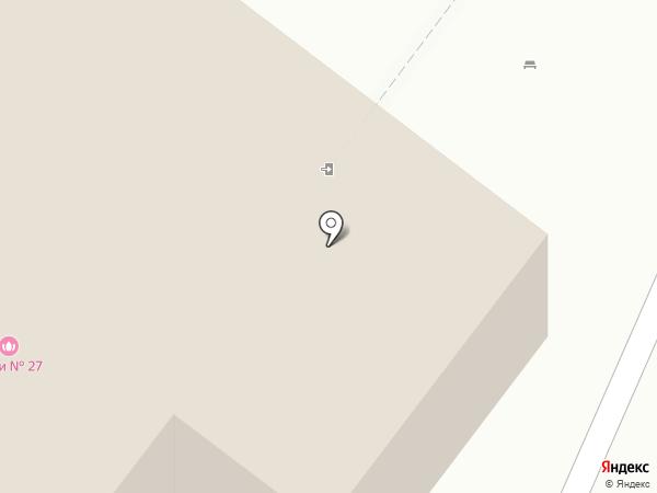 Городские бани, МУП на карте Архангельска