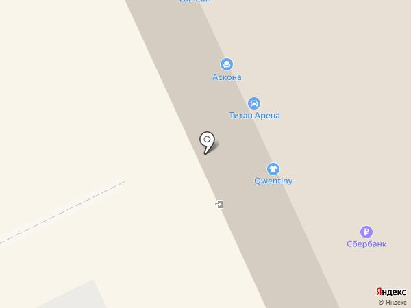 VAN CLIFF на карте Архангельска
