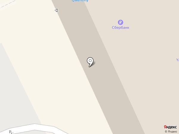 Ботик на карте Архангельска