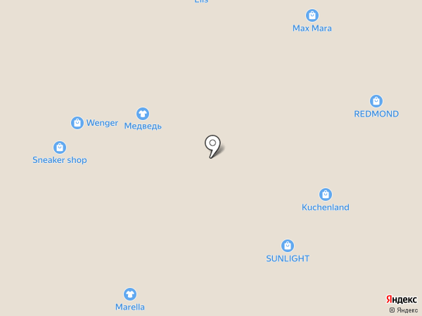 Elis на карте Архангельска