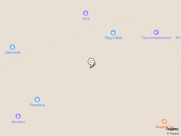 Yota на карте Архангельска