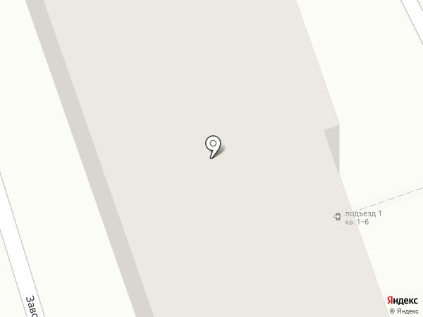 Заводская 5 на карте Боголюбово
