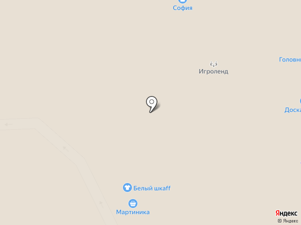 DjBlin на карте Архангельска
