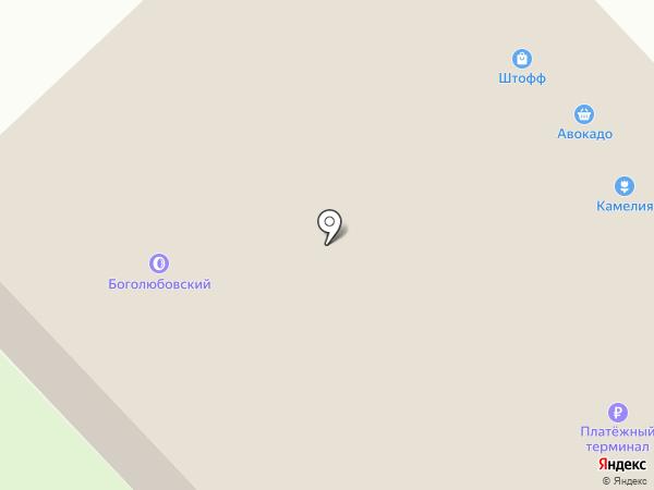 Магазин хозяйственных товаров на карте Боголюбово