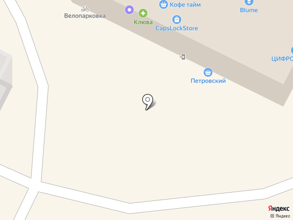 CapsLock на карте Архангельска