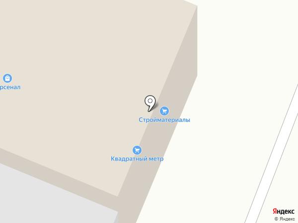 Квадратный метр на карте Архангельска