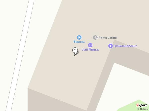 Ritmo Latino на карте Архангельска