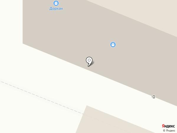 Брэнд на карте Архангельска