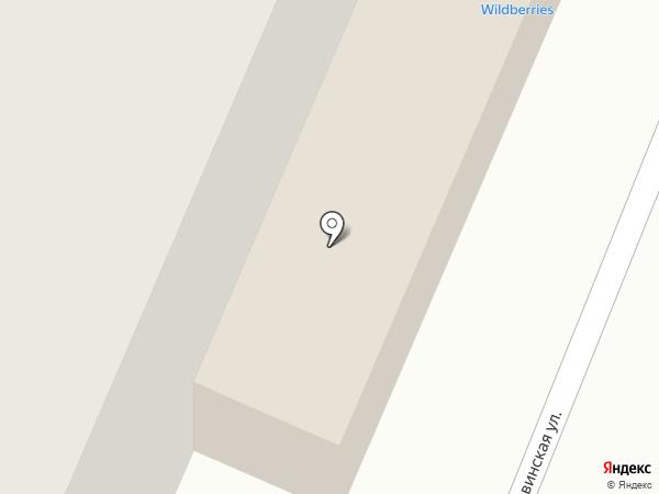 BARBER SHOP Усачев Андрей на карте Архангельска