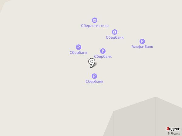 Банкомат, Альфа-банк на карте Архангельска