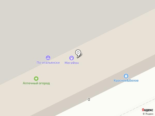 Магазин ивановского трикотажа на карте Архангельска