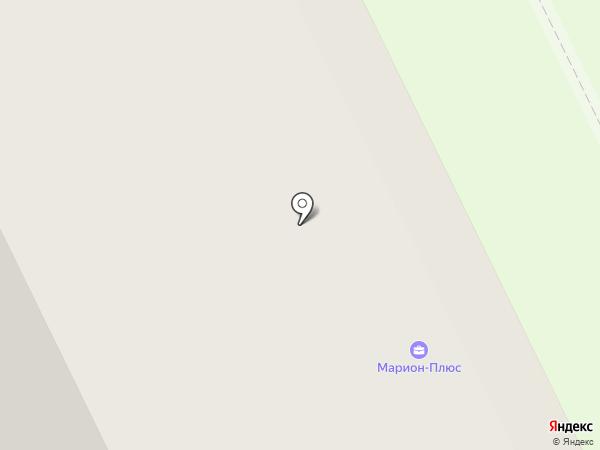 Марион-Плюс на карте Архангельска