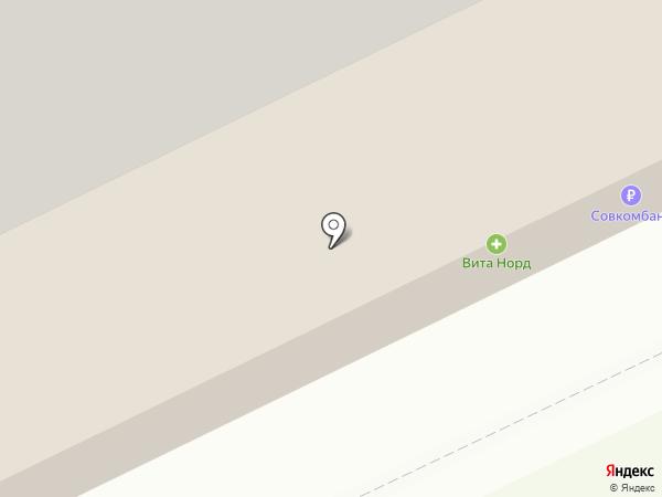 На часок на карте Архангельска