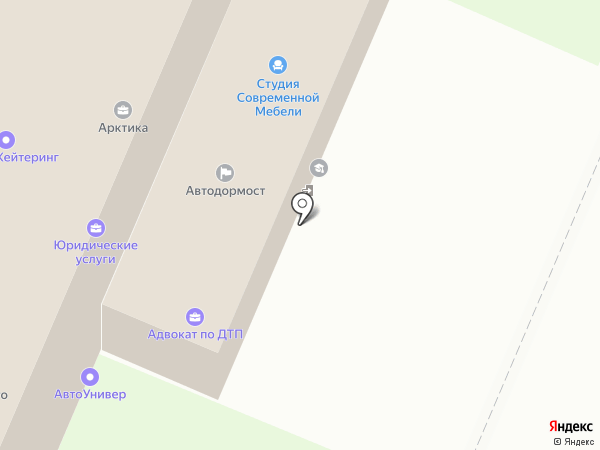 Архангельскцентравто на карте Архангельска