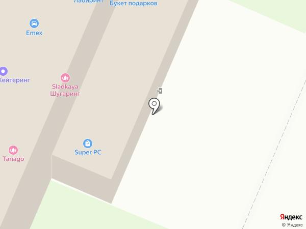 Орбита жизни на карте Архангельска