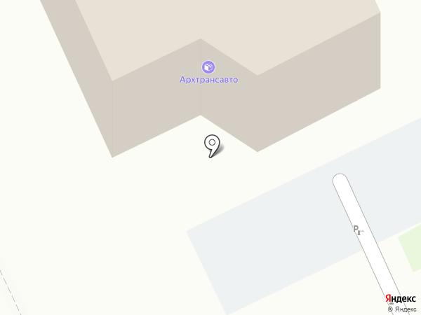 Планета инструмента на карте Архангельска