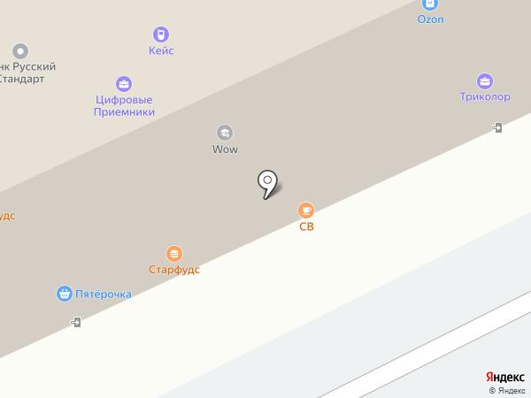 Цветочная комната на карте Архангельска
