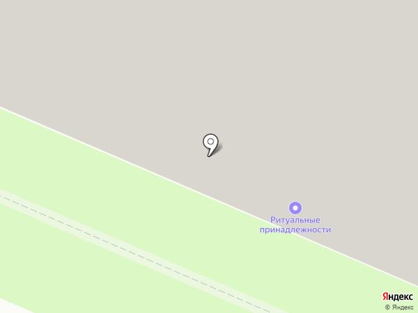 Сеть ритуальных агентств на карте Архангельска