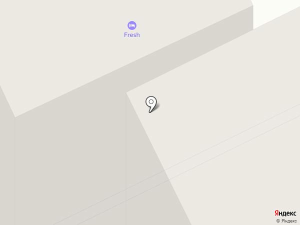 FRESH-хостел на карте Архангельска