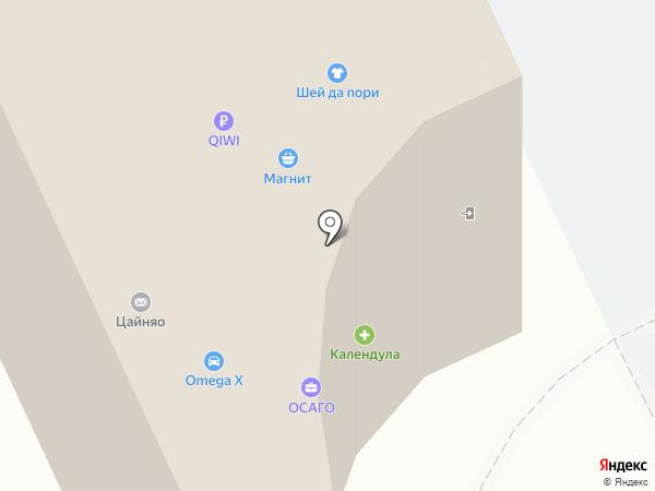 Плезир на карте Архангельска