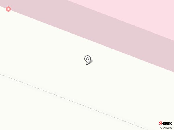 Поликлиника №1 на карте Архангельска