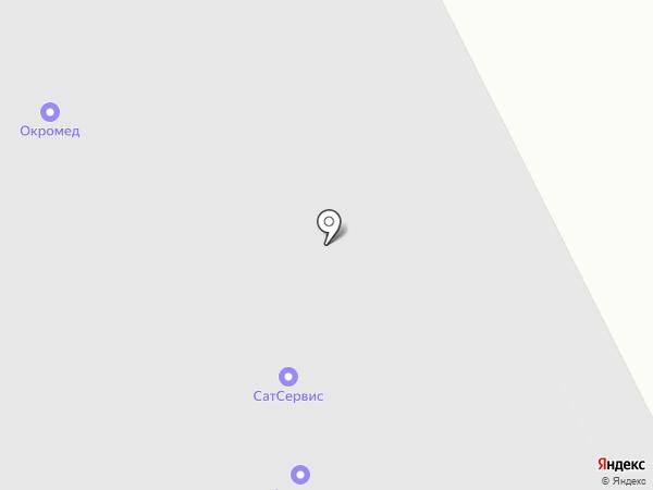 Карекс Север на карте Архангельска