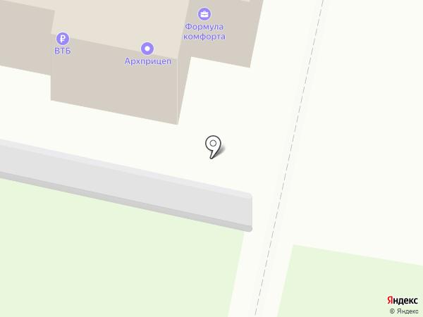 ЭЛВИКОМ на карте Архангельска