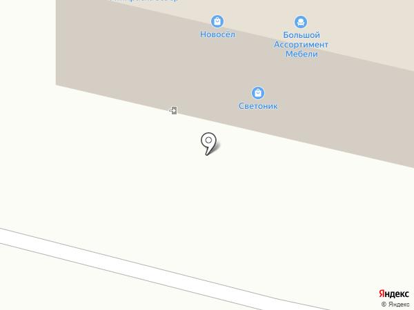 Крепыш на карте Архангельска