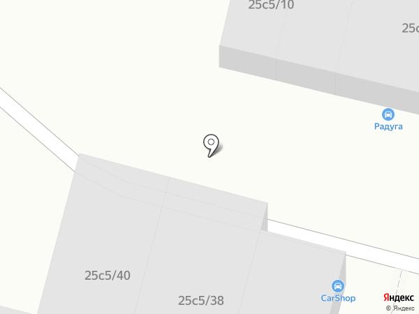 Магазин б/у запчастей на карте Архангельска