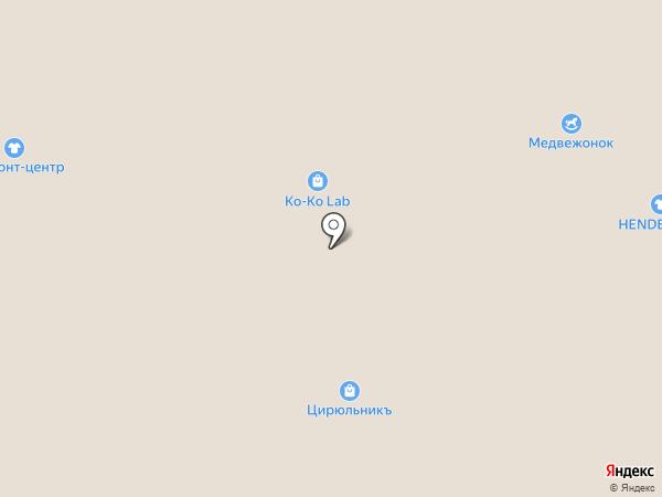 Навигатор Хобби на карте Архангельска
