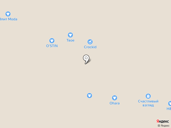 O`stin на карте Архангельска