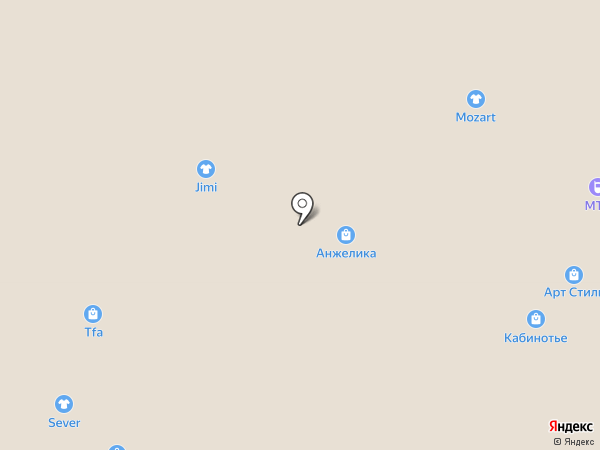 ДжиМи на карте Архангельска