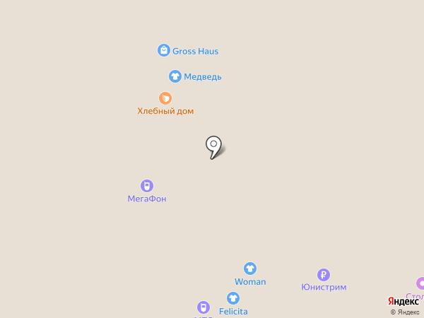 Gross Haus на карте Архангельска