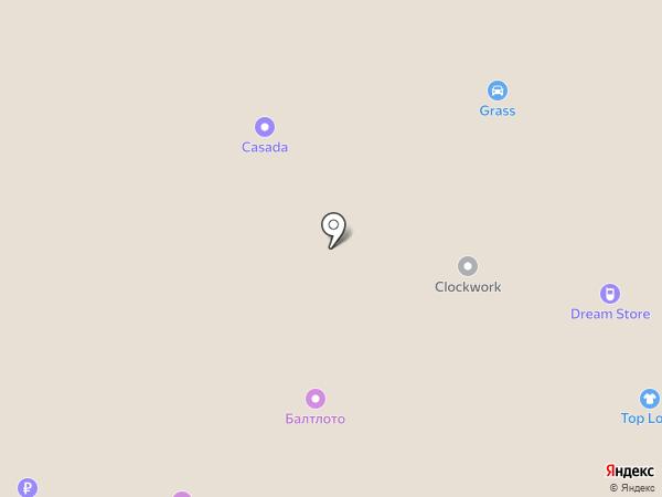 Оптика-Стиль на карте Архангельска