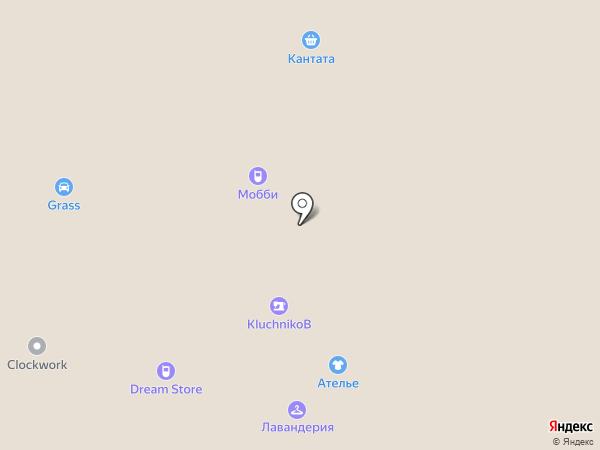 Кантата на карте Архангельска